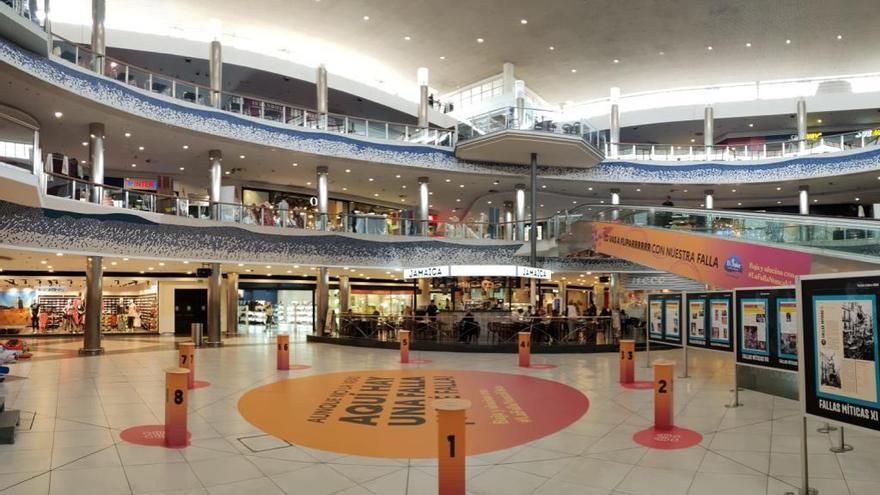 Centros comerciales abiertos hoy en València