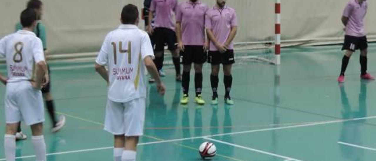 El Micela Alzira continúa con su escalada en la tabla de Tercera División de fútbol sala