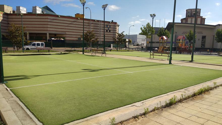 Zamora contará con dos nuevas pistas multideporte