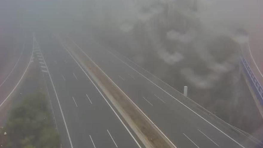 La niebla dificulta el tráfico en varios tramos de carreteras de Zamora