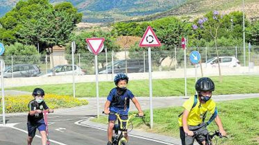 Los niños eldenses aprenderán educación vial en el nuevo Parque Infantil de Tráfico