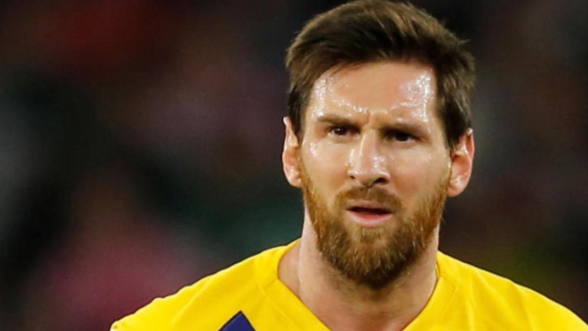 Imagen de archivo de Lionel Messi.