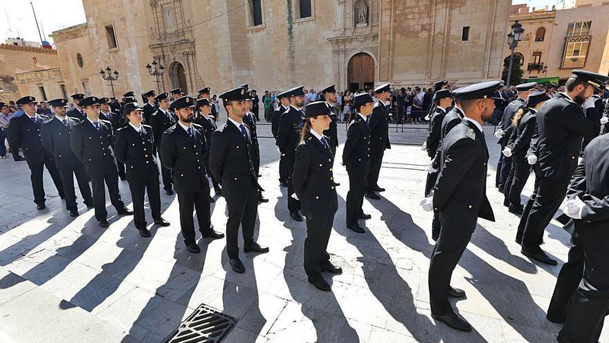 La Policía Nacional gradúa el lunes a 200 agentes en Elche