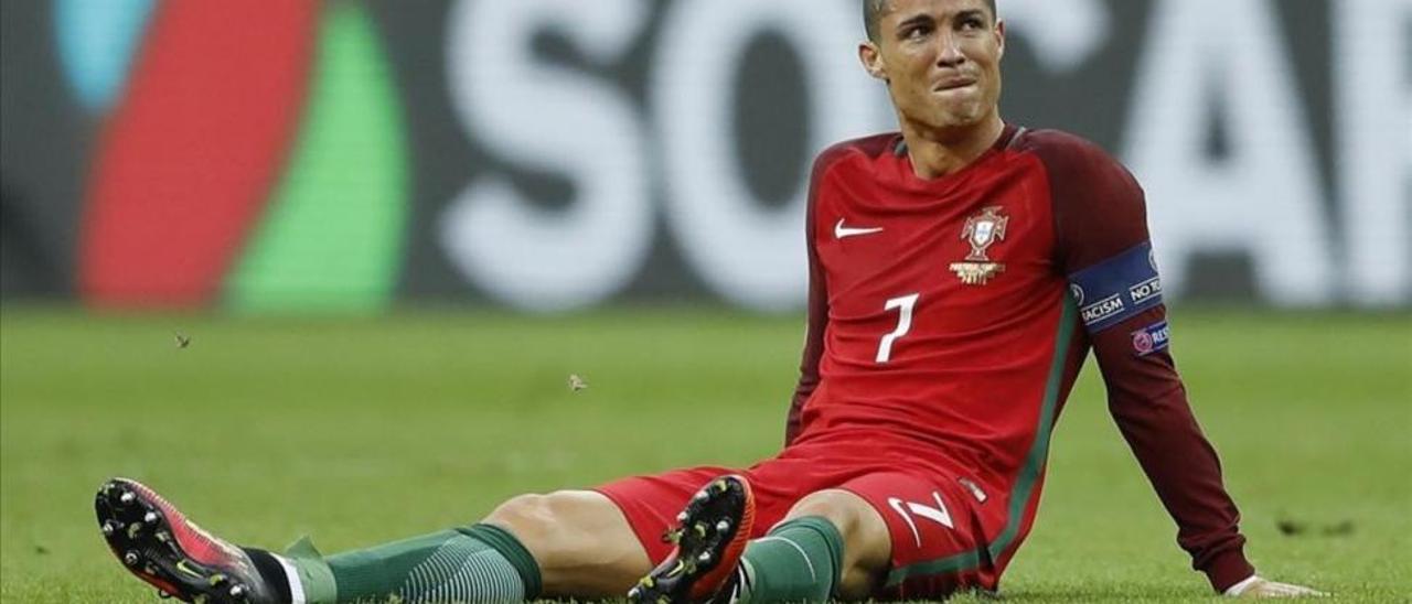 El Madrid, en vilo por la lesión de Ronaldo