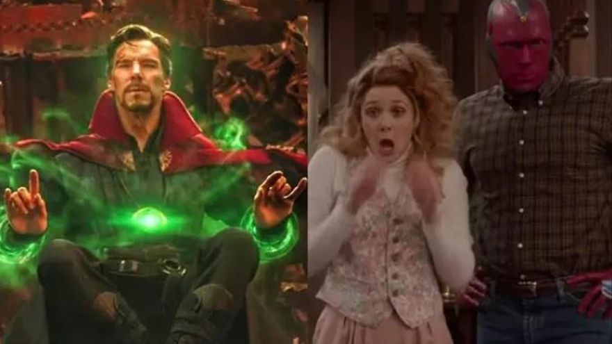¿Reparará Doctor Strange el multiverso roto por Bruja Escarlata en 'WandaVision'?