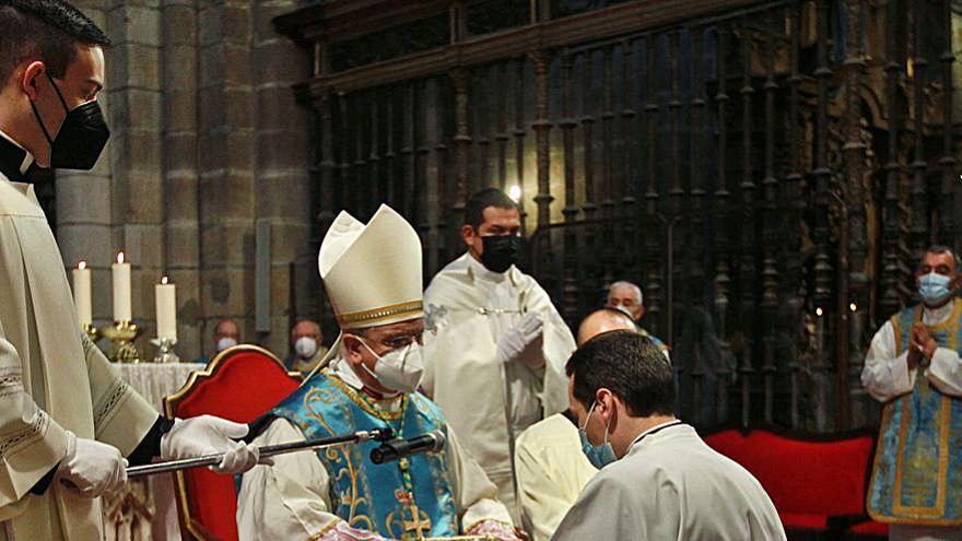 Celebración seminarista en la catedral