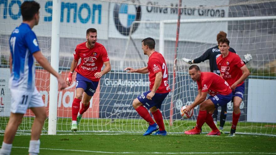 L'Olot s'apunta el derbi contra el Figueres (4-3)