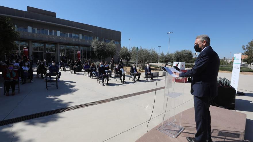 La Fundación Trinidad Alfonso y las siete universidades de la Comunidad Valenciana renuevan en Elche el proyecto Uniesport