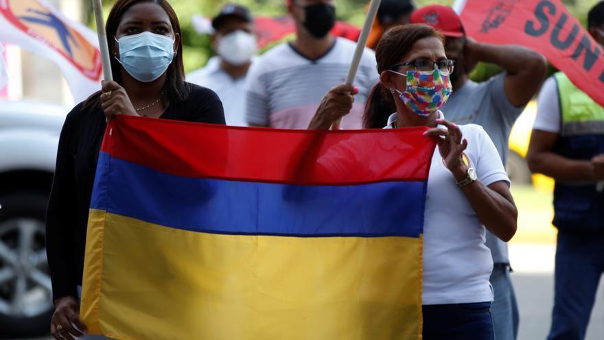 Colombia aumenta a 24 el balance de muertos en las protestas