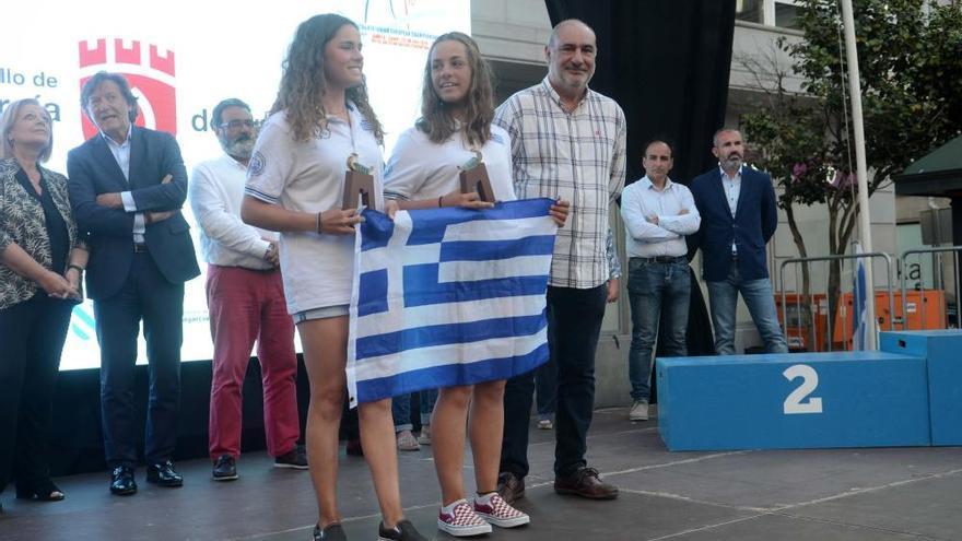 La imágenes del Europeo Júnior de vela 420 y 470