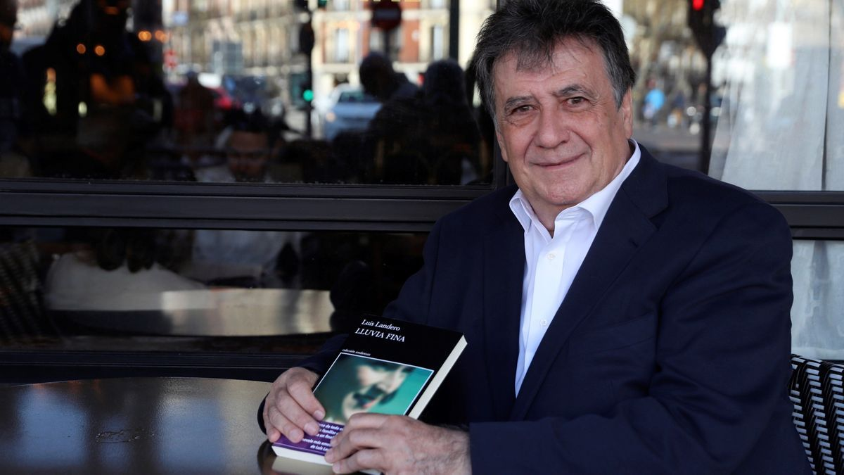 El escritor extremeño Luis Landero, que hoy dará el pregón de la Feria del Libro de Badajoz.