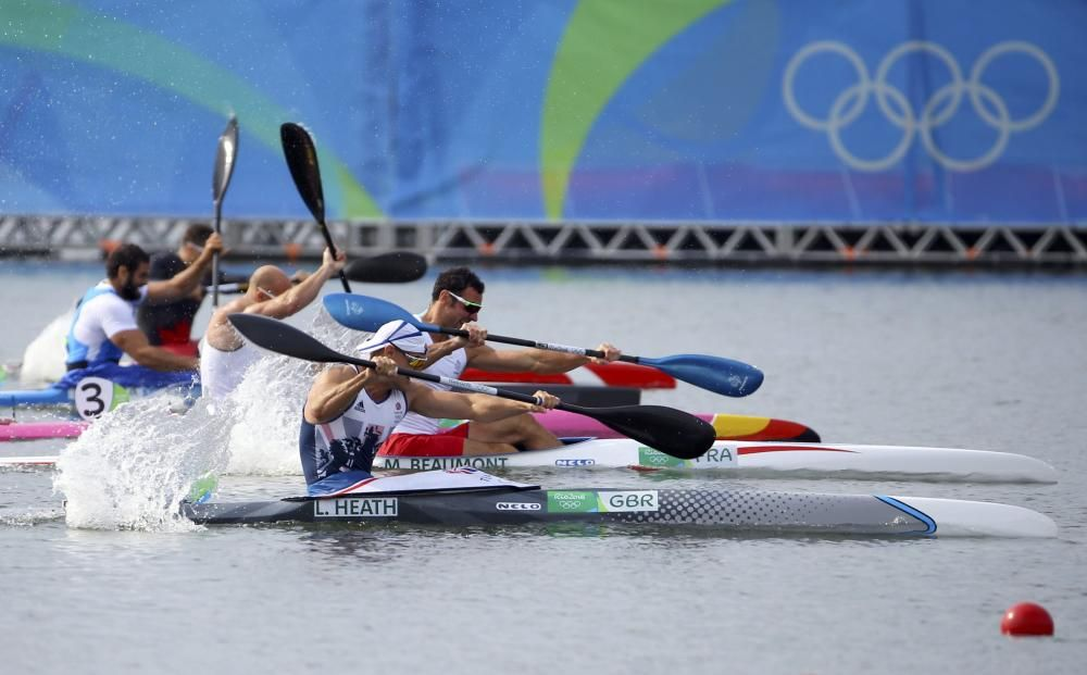Final de Kayak, Liam Heath gana el oro