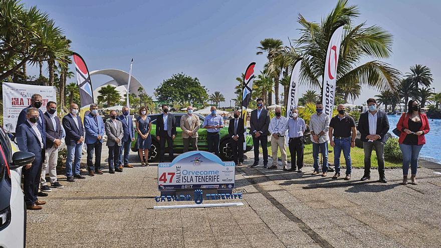 Más de 120 equipos pugnarán por el 47º Rally Isla Tenerife