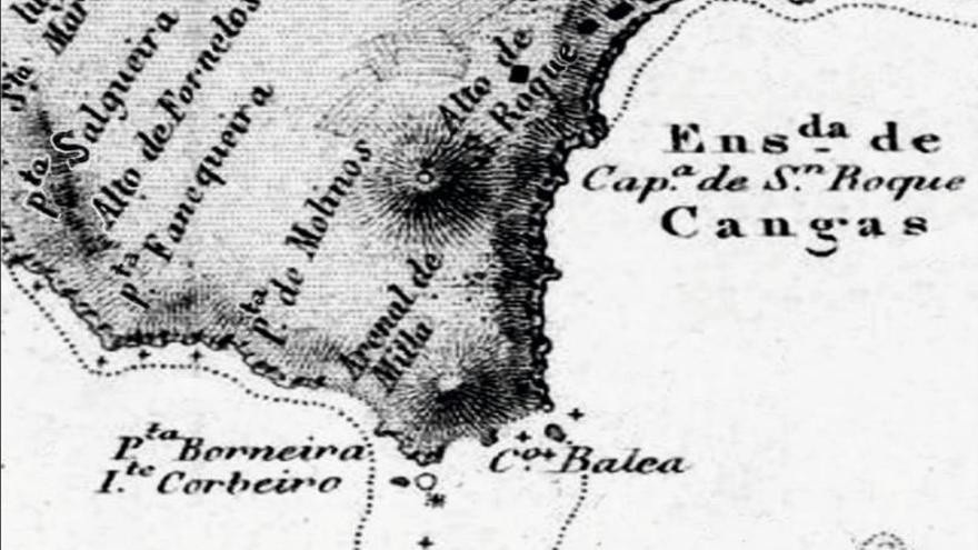 Grandes naufraxios na costa de Cangas (I)