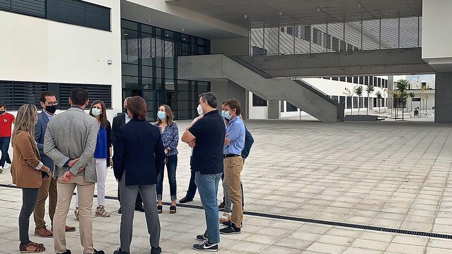 El instituto Vicente Verdú está listo para acoger alumnos de La Torreta en breve