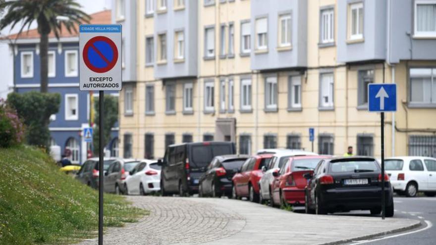 La Policía Local impuso 1.142 multas en un año por circular por la Ciudad Vieja