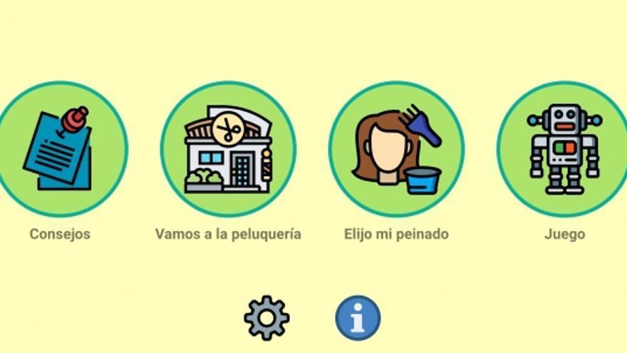La UCO crea una aplicación para niños con TEA para ir a la peluquería