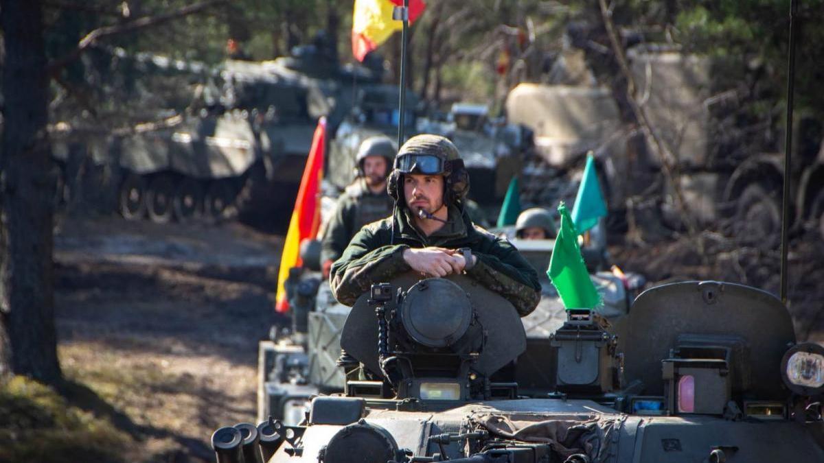 Los blindados de la Brigada X ganan el Iron Spear 2020 de la OTAN en Letonia