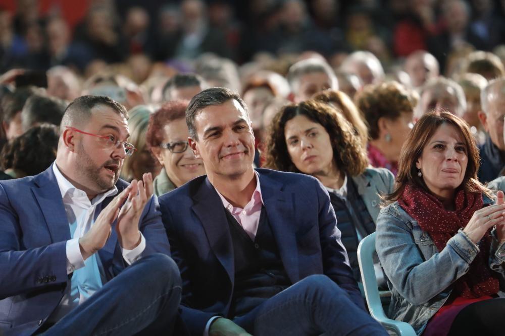 Mitin de Pedro Sánchez en Gijón