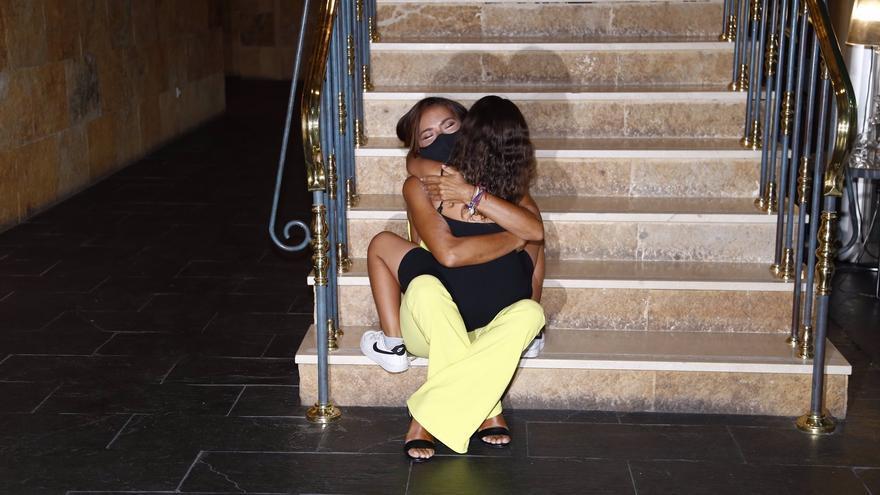El emotivo encuentro de Olga Moreno con su hija, Lola