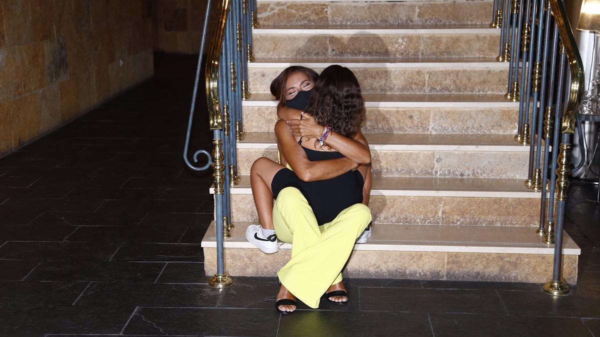 Olga Moreno's emotional meeting with her daughter, Lola