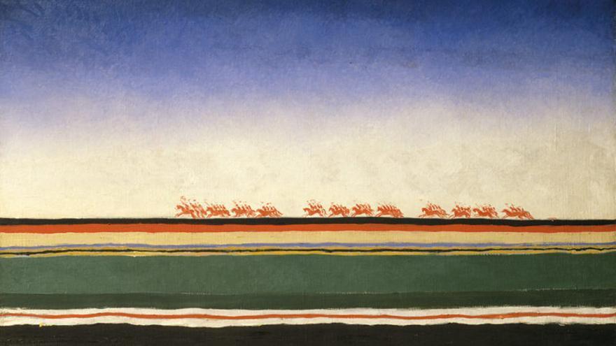 Guerra y paz en el arte Ruso