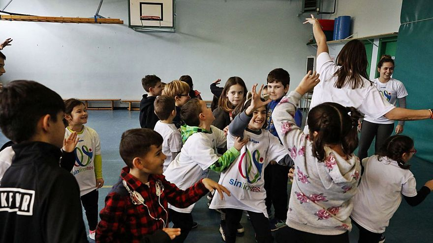 Ocho colegios contarán con actividades deportivas de inclusión en horario lectivo