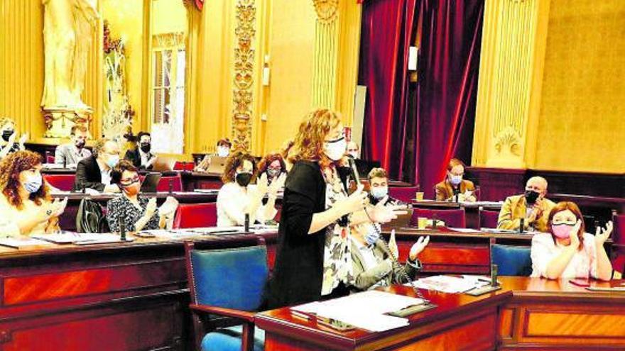 El Parlament rechaza los presupuestos de Sánchez  para Balears con el voto de Més