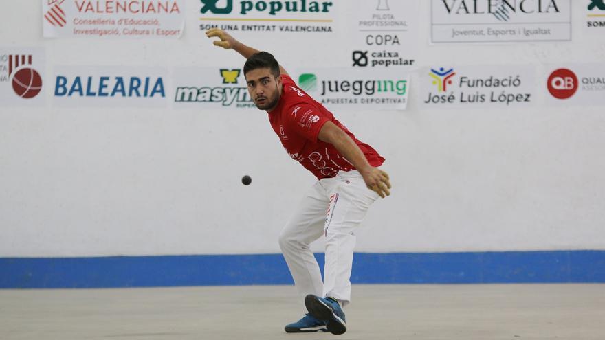 Francés torna a competir però cau al Trofeu Diputació d'Alacant