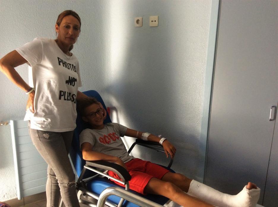 Accidente en O Marisquiño de Vigo: 400 heridos
