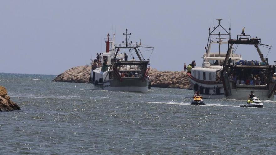 El Consell restituye el calado del puerto de Cullera