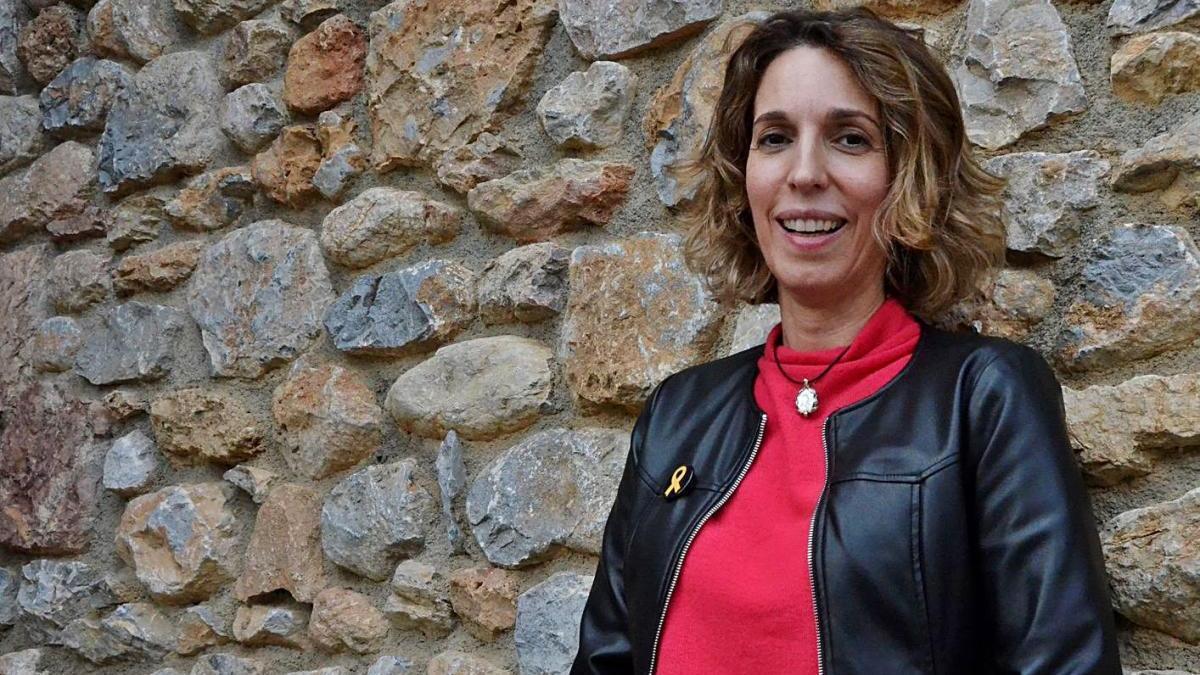 La candidata a presidir la Generalitat pel PDeCAT, Àngels Chacón