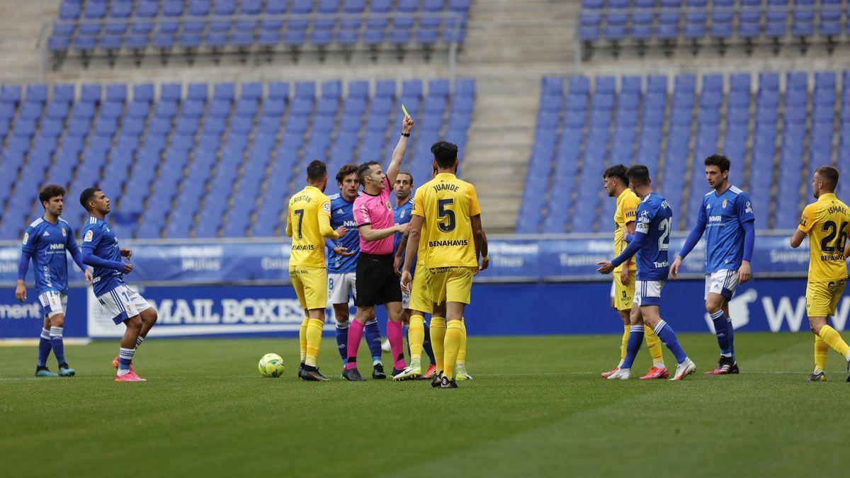 Las imágenes del Real Oviedo - Málaga CF