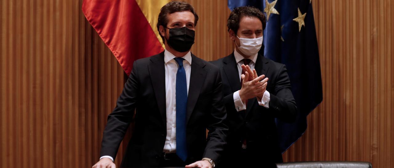 Casado acusa a Sánchez de dar un golpe de gracia a la legalidad con indultos