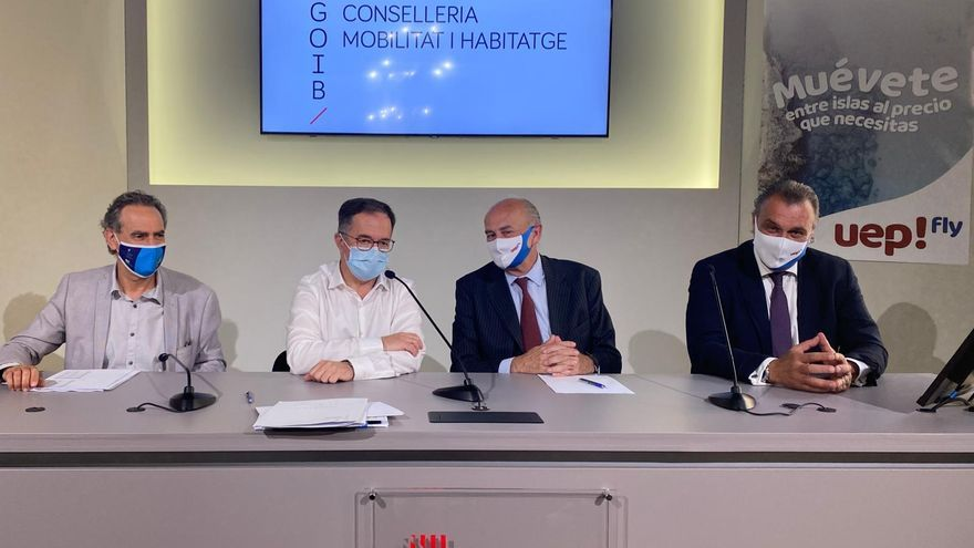 Una nueva compañía aérea aumentará un 28% los vuelos entre Palma e Ibiza