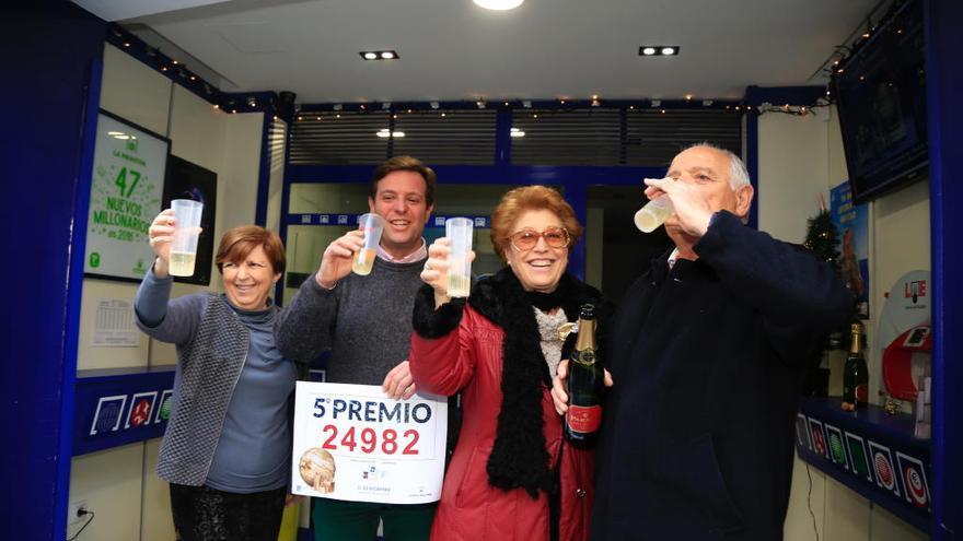 Más de 10 millones con un quinto premio íntegro en Castelló