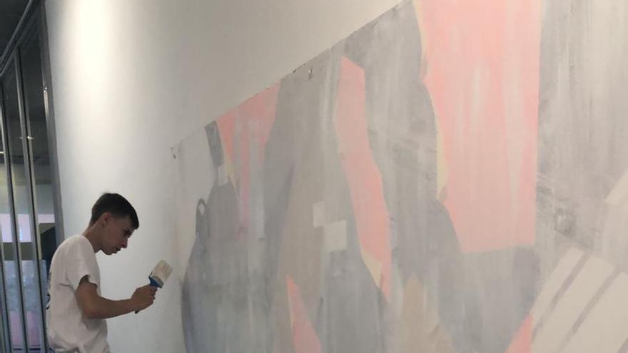Inauguración exposición Diferenciarte. La Juventud de Candelaria expresa su arte