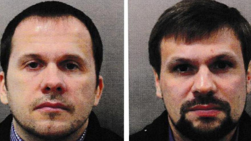 Identificados dos espías rusos sospechosos de envenenar a los Skripal