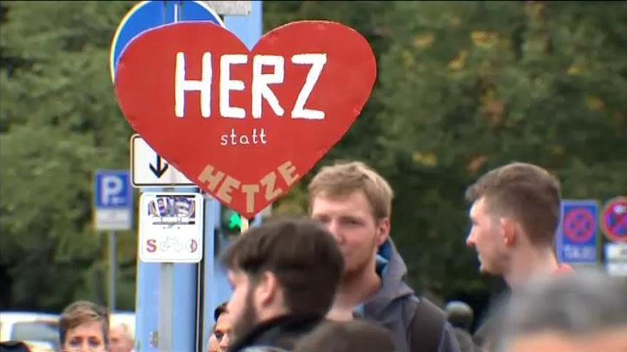 Dieciocho heridos en las protestas de Chemnitz