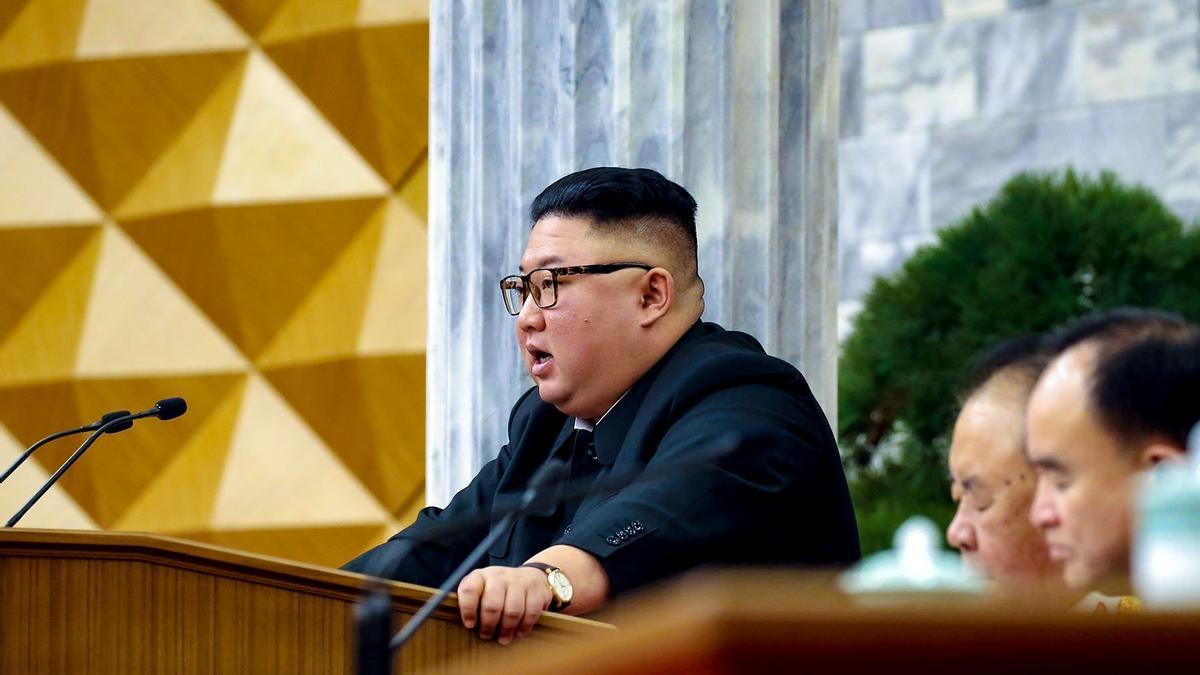 Kim Yong-un.