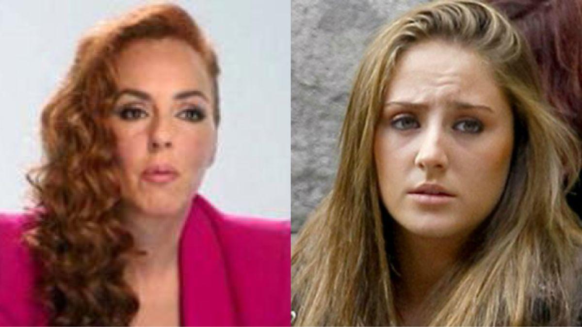 Rocío Carrasco y Rocío Flores.