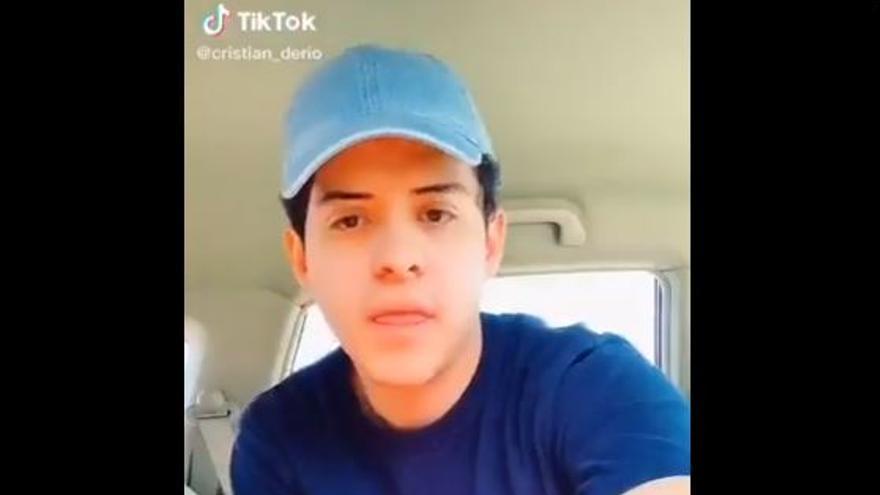 Tu primera vez en TikTok no puede ser peor que la de este chico