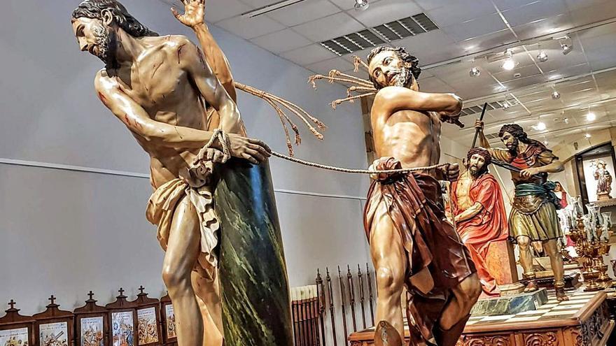 El Museo de la Semana Santa de Villaviciosa vuelve a recibir visitas