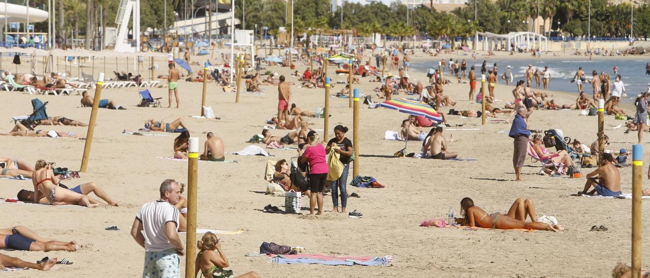 El buen tiempo llenará las playas este fin de semana
