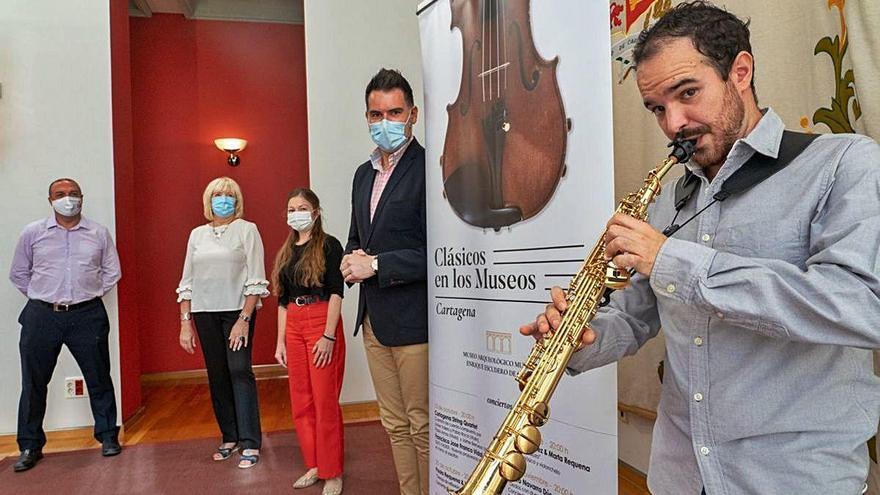 La música clásica pondrá banda sonora a los museos en Cartagena