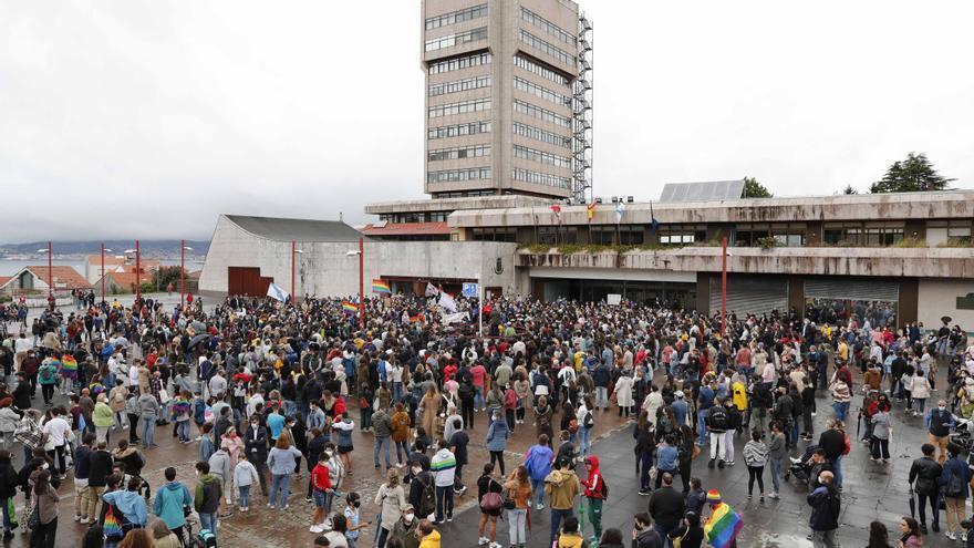 """Miles de gallegos inundan las calles para exigir """"justicia para Samuel"""""""