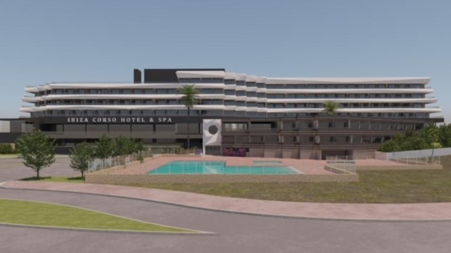 Ibiza Corso Hotel & Spa abre sus puertas este jueves tras una completa remodelación