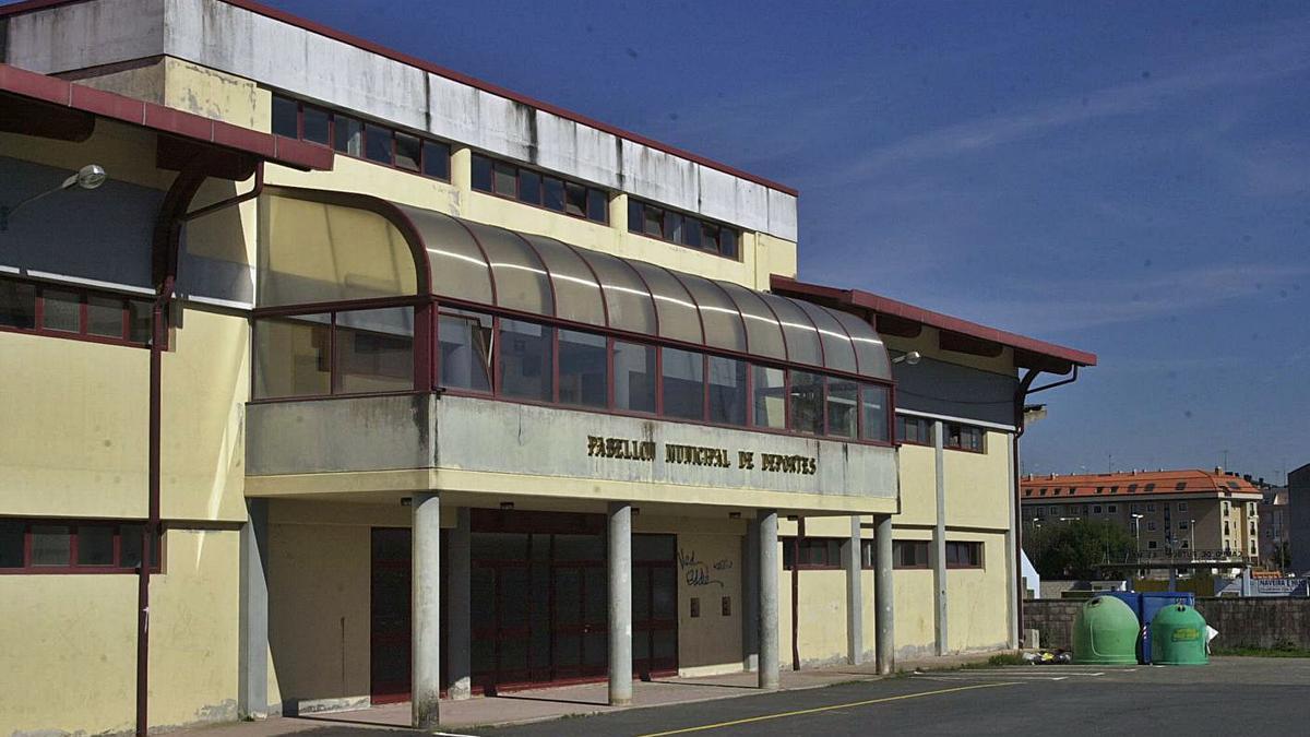 Pabellón municipal de Sada.     // L.O.