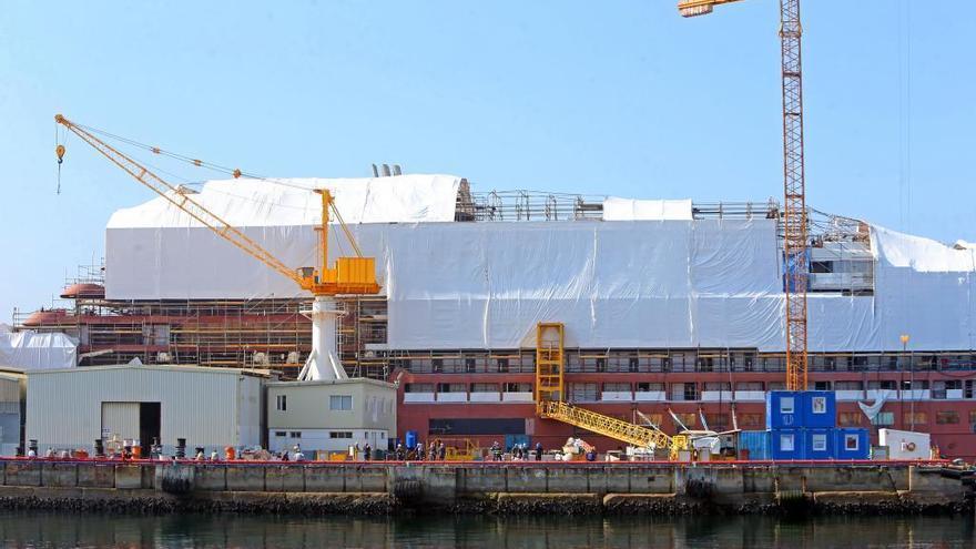Ritz negocia ahora completar los cascos del proyecto Havila pero sin rematarlos en Vigo