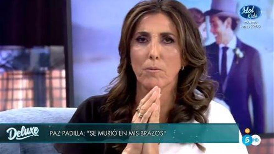 Paz Padilla revela a «Sábado Deluxe» com va viure la mort de la seva «mitja taronja»